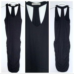 Athleta Ruched Jersey Dress